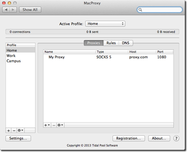 MacProxy 3.0.10 macOS