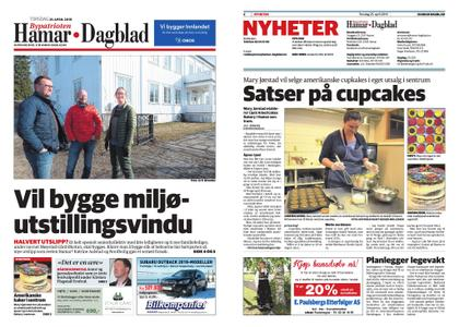 Hamar Dagblad – 25. april 2019