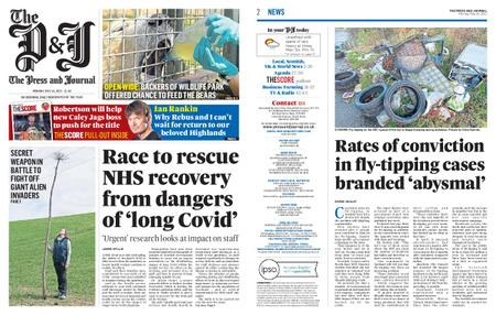 The Press and Journal Moray – May 24, 2021