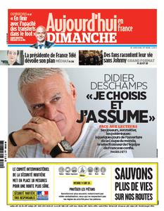 Aujourd'hui en France du Dimanche 10 Juin 2018