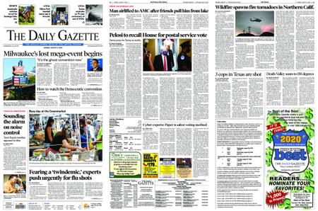 The Daily Gazette – August 17, 2020
