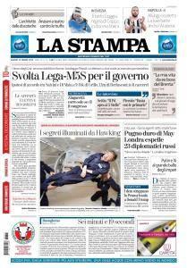 La Stampa Torino Provincia e Canavese - 15 Marzo 2018