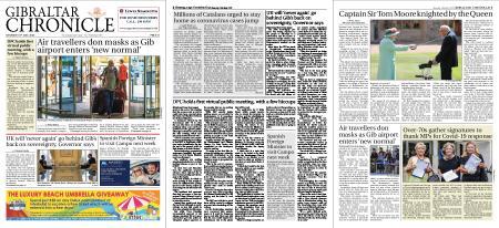 Gibraltar Chronicle – 18 July 2020