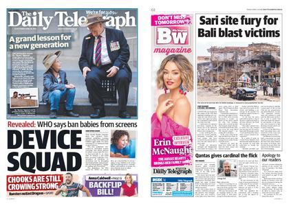 The Daily Telegraph (Sydney) – April 26, 2019