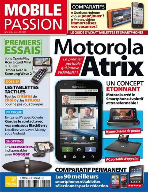 Mobile Passion No.6 - Juin/Juillet 2011