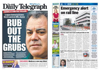 The Daily Telegraph (Sydney) – February 21, 2019