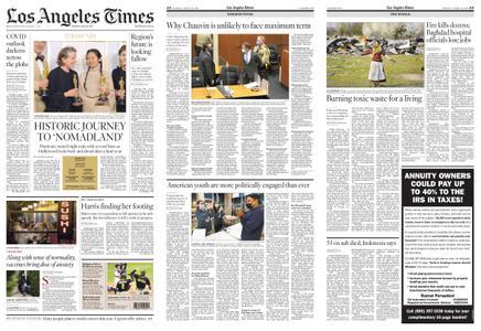 Los Angeles Times – April 26, 2021