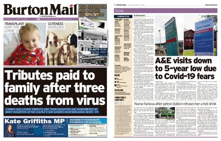 Burton Mail – April 15, 2020