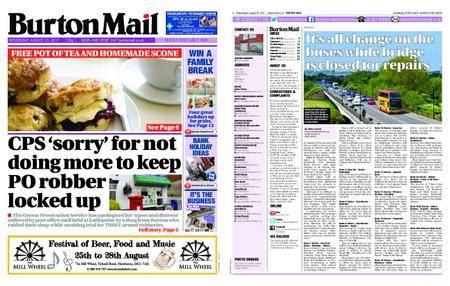 Burton Mail – August 23, 2017