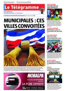 Le Télégramme Ouest Cornouaille – 15 septembre 2019