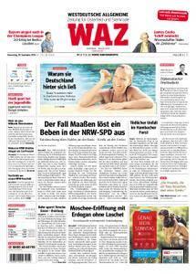 WAZ Westdeutsche Allgemeine Zeitung Oberhausen-Sterkrade - 20. September 2018