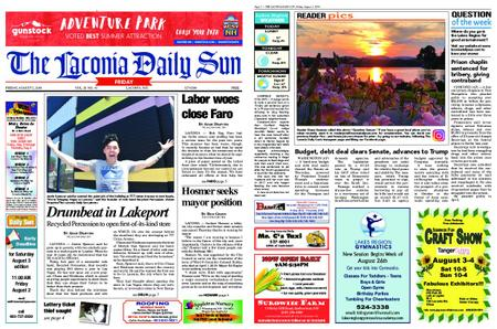 The Laconia Daily Sun – August 02, 2019