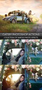 Gatsby Photoshop Actions Complete Collection 2018