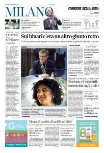Corriere della Sera Milano - 3 Febbraio 2018