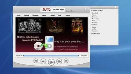 Plato DVD to iPod Converter 5.64