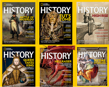 National Geographic History - Full Year  2018 Collection