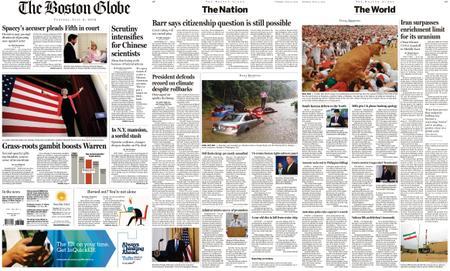 The Boston Globe – July 09, 2019