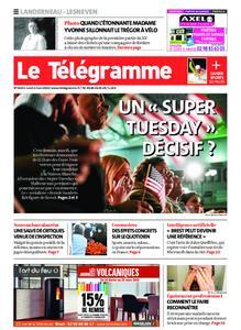 Le Télégramme Landerneau - Lesneven – 02 mars 2020