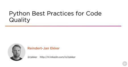 Python Best Practices for Code Quality