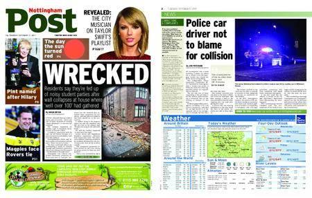 Nottingham Post – October 17, 2017