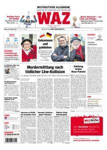 WAZ Westdeutsche Allgemeine Zeitung Oberhausen-Sterkrade - 29. Dezember 2017