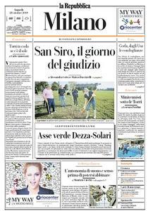 la Repubblica Milano - 28 Ottobre 2019