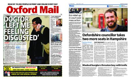 Oxford Mail – May 21, 2019