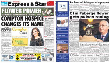 Express and Star Sandwell Edition – April 11, 2018