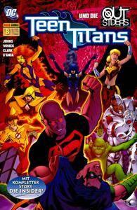 Teen Titans SB 08 - Die Insider Aug 2006