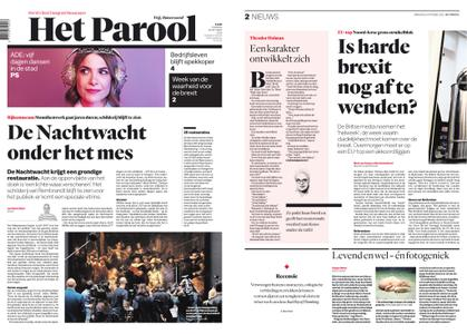 Het Parool – 16 oktober 2018