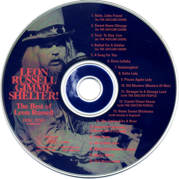 Leon Russell - Gimme Shelter! The Best Of Leon Russell (1996)