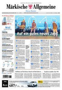 Märkische Allgemeine Dosse Kurier - 30. Dezember 2017