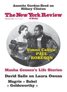 The New York Review of Books - January 13, 2018