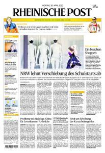 Rheinische Post – 20. April 2020