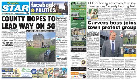 Shropshire Star Shrewsbury Edition – May 22, 2019