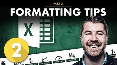 Excel PRO TIPS Part 2: Formatting