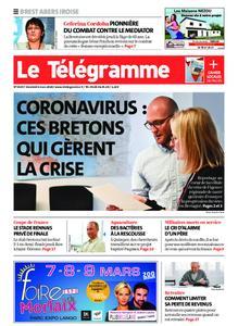 Le Télégramme Brest Abers Iroise – 06 mars 2020