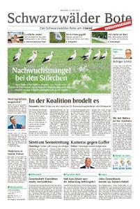 Schwarzwälder Bote Blumberg - 15. Juli 2019