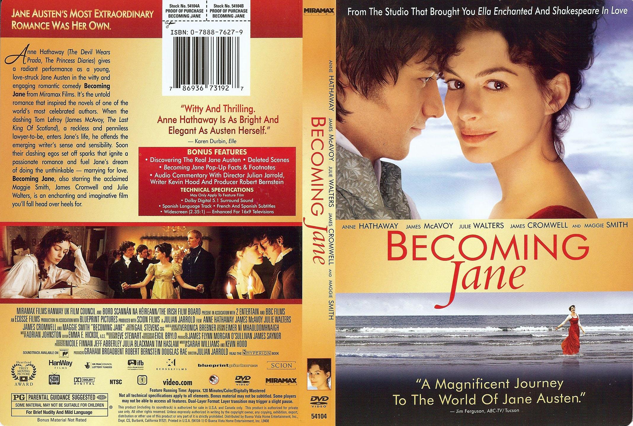 Becoming Jane Austen Book