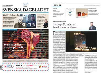 Svenska Dagbladet – 01 september 2019