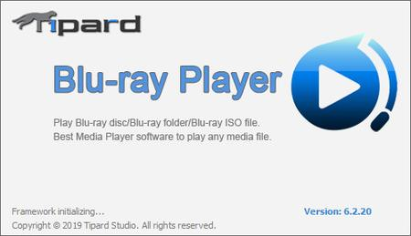 Tipard Blu-ray Player 6.2.20 Multilingual + Portable