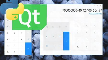 Python GUI | Build a Beautiful Calculator with PyQt and Qml