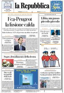 la Repubblica - 31 Ottobre 2019