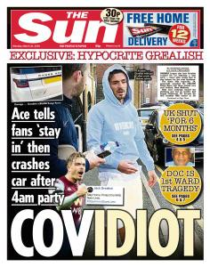 The Sun UK - 30 March 2020