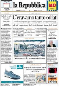 la Repubblica - 11 Agosto 2019