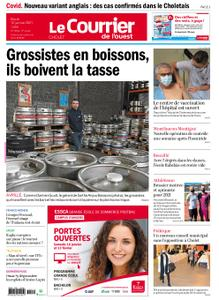 Le Courrier de l'Ouest Cholet – 12 janvier 2021