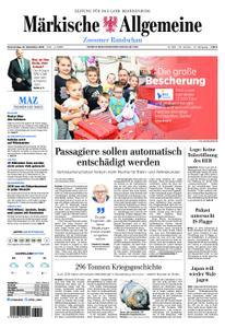 Märkische Allgemeine Zossener Rundschau - 27. Dezember 2018