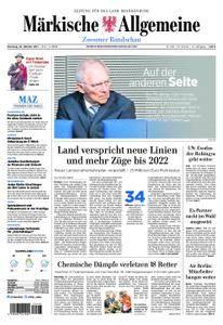 Märkische Allgemeine Zossener Rundschau - 24. Oktober 2017