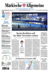 Neue Oranienburger Zeitung - 23. September 2019