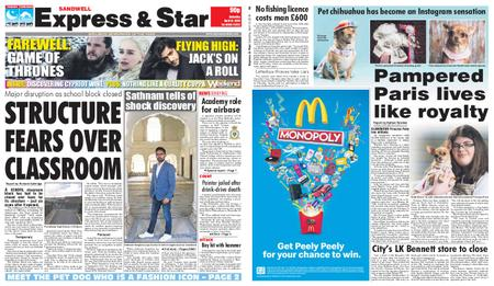 Express and Star Sandwell Edition – April 13, 2019